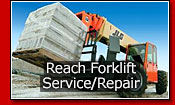 Reach Forklift Service and Repair