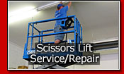 Scissors Lift Service and Repair